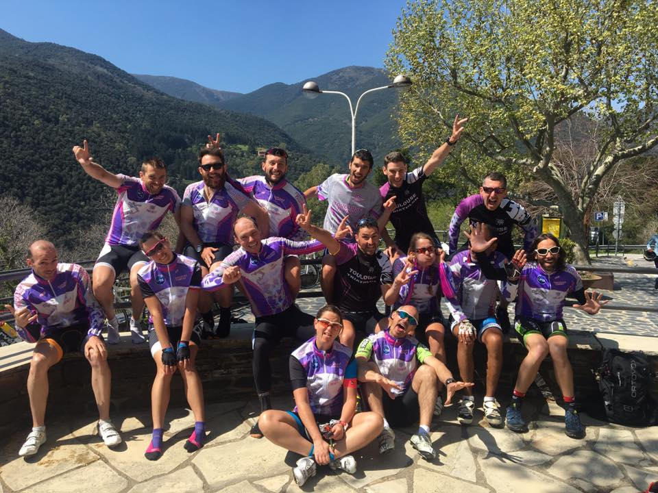 Pique-nique à Monseny au dernier jour du stage Espagne 2017