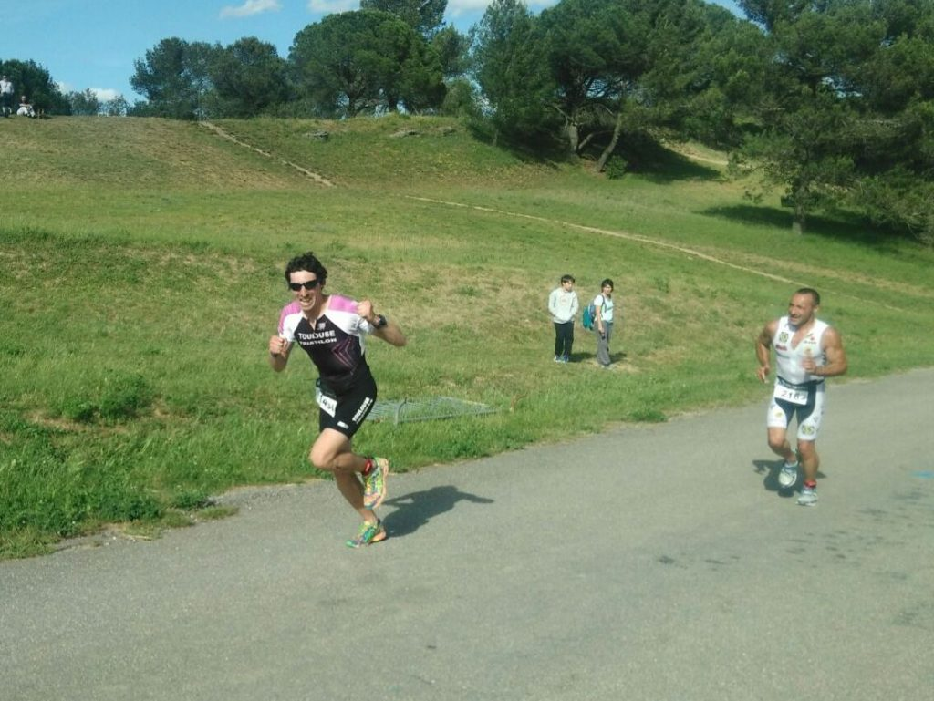 Triathlon de Carcassonne - Course Hugo