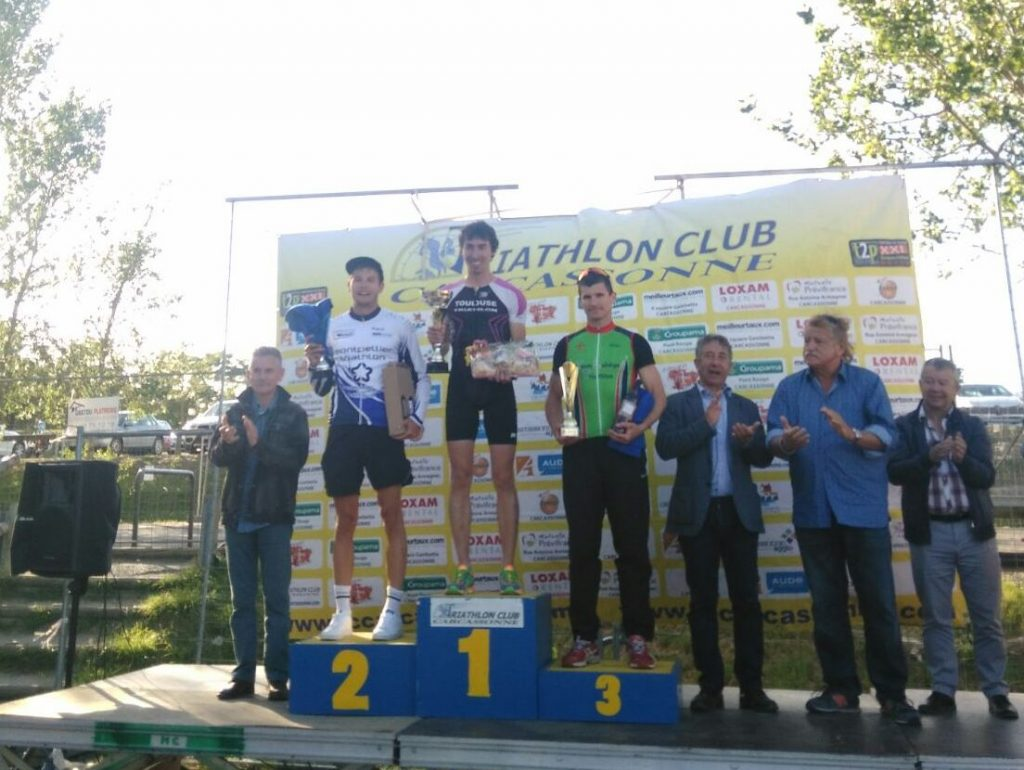 Triathlon de Carcassonne - Podium Hugo