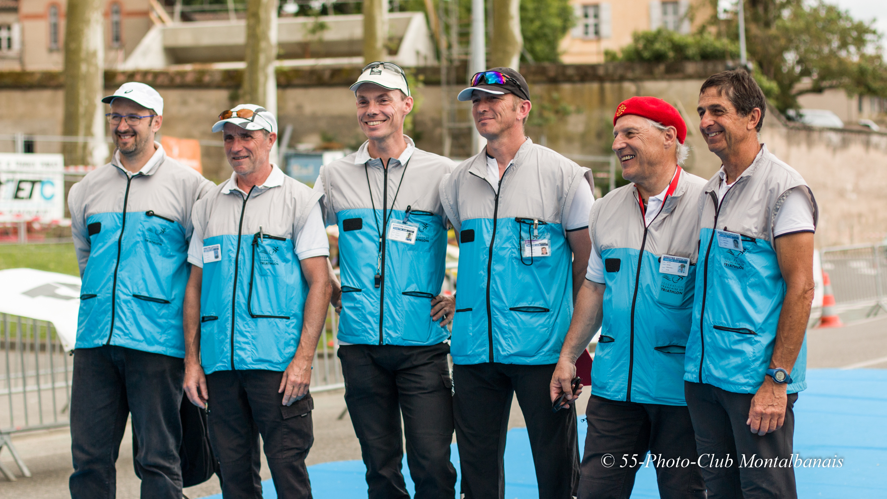 Les arbitres du Triathlon de Montauban