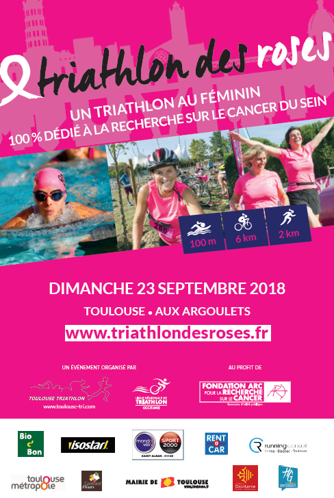 Triathlon des Roses 2018 - Affiche