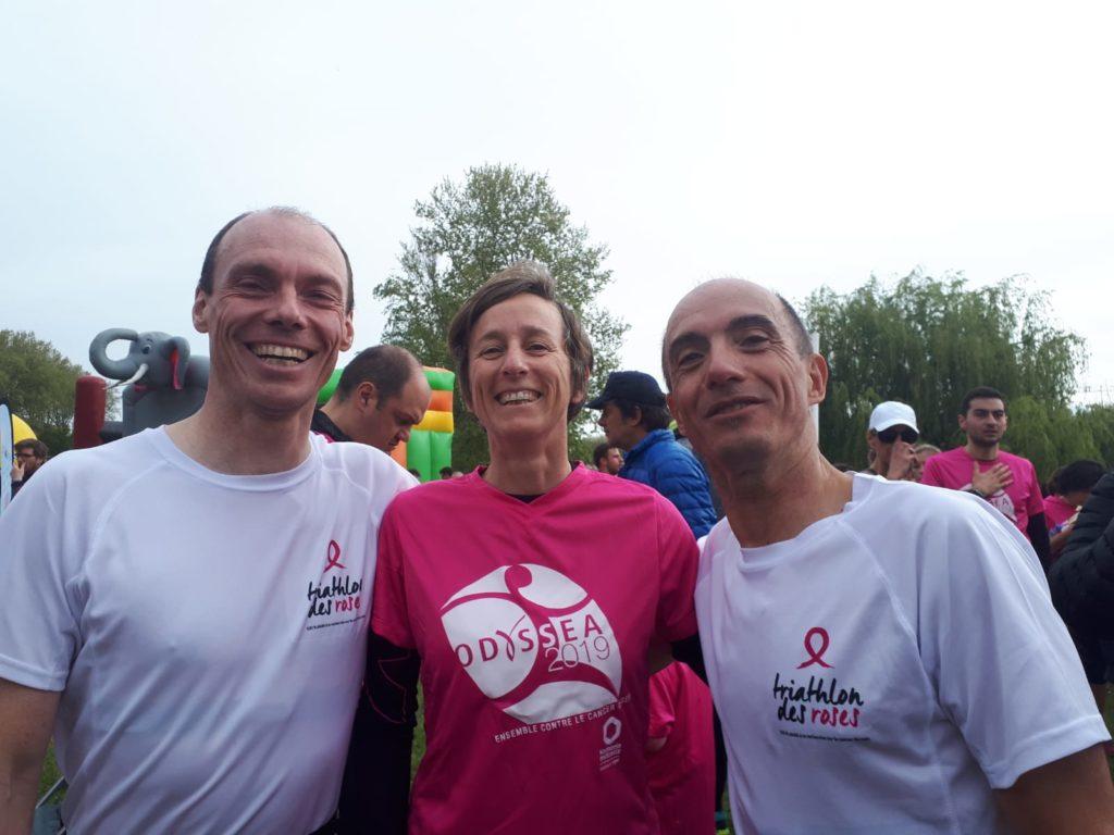 Franck, Joëlle et Jean-Yves à l'Odyssea 2019
